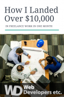 How I Landed Over 10k in Freelancing Projects